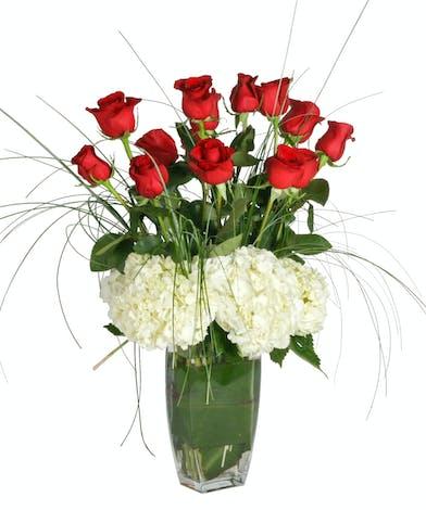 Luxury Rose Anniversary Flowers