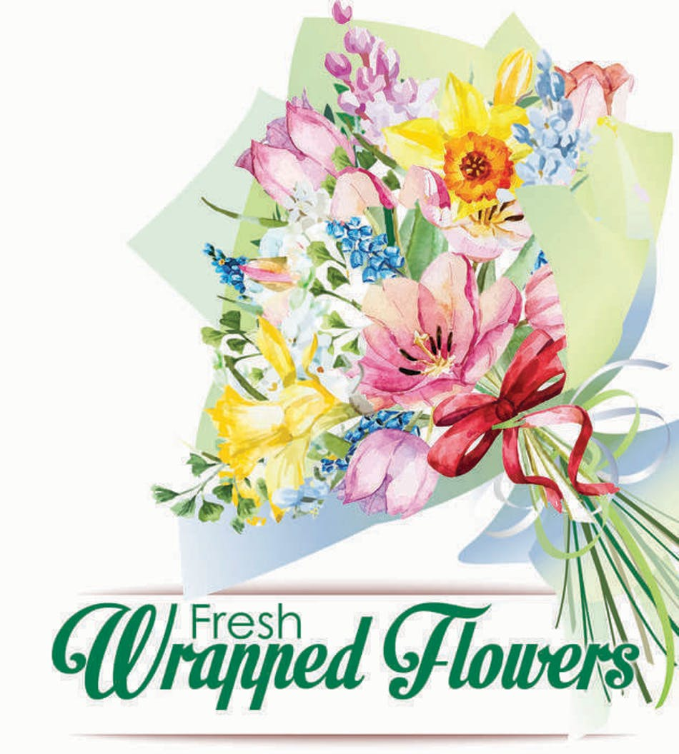 Fresh Wrapped Flowers Quality Custom Designed Floral Bouquets