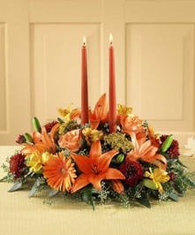 Beautiful Candle Centerpiece!
