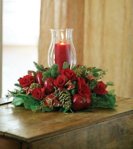 Christmas candle centerpieces albuquerque nm decoration