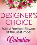 Designer's Choice Valentine's Day Bouquet