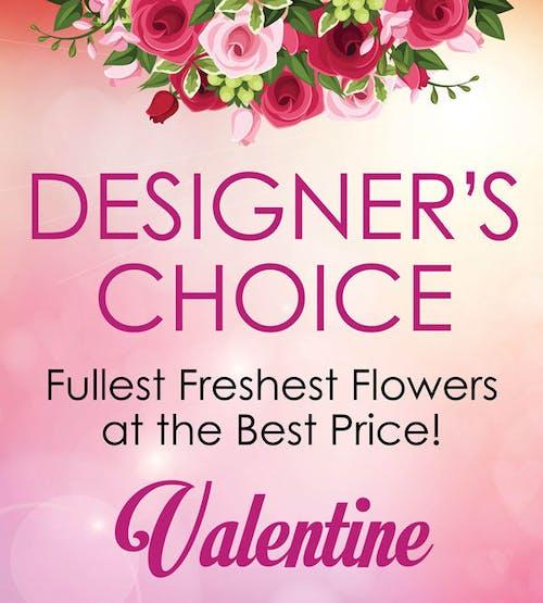 Designer's Choice Valentine's Day Bouquet
