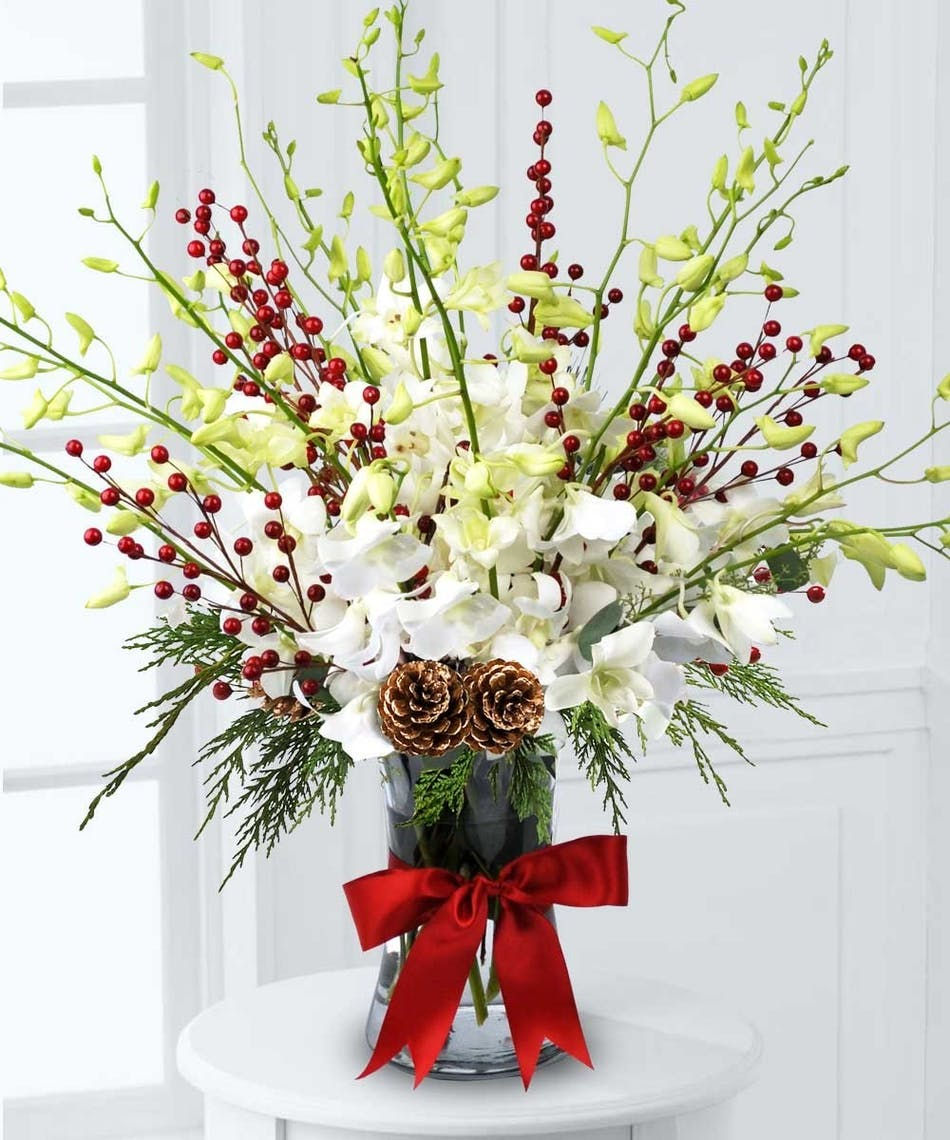 Orchids and berries albuquerque flower delivery orchids and berries bouquet izmirmasajfo