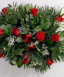 Roses make a beautiful tribute.