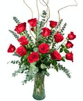 Loverboy with 18 Roses without Love Ribbon Treatment