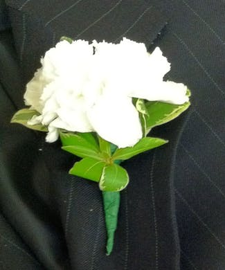 Classic Carnation Boutonniere