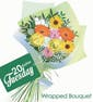 $20 Seasonal Wrapped Flowers