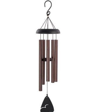 Pewter Black Wind Chime