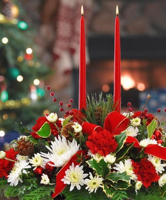 A Merry Christmas Centerpiece