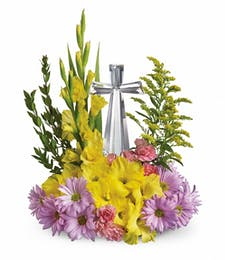 Keepsake Crystal Cross Bouquet