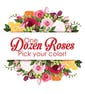 Dozen Premium Roses with Accent Flower