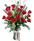 Loverboy with 18 Roses