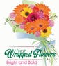 Fresh Wrapped Flowers (Bright and Bold Colors)