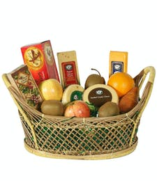 Fruit and Cheese Basket