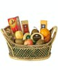 Deluxe Fruit and Cheese Basket