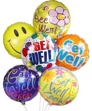 Get Well Soon Hospital Balloon Bouquet