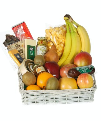 Gourmet Food and Fruit Basket