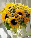 Summer Sunflowers As Shown