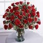 Three Dozen Roses with Accent Flower