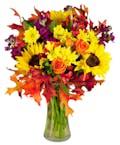 Fall Splendor Premium Upgrade Version in Larger Vase (Most Popular)