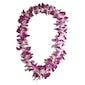 Purple Dendrobium Orchid Lei