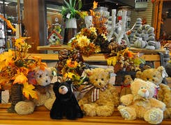 In addition to flowers and plants, Peoples offers a range of gifts and decorations